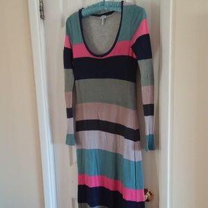 Long Sleeve Striped Dress by Splendid